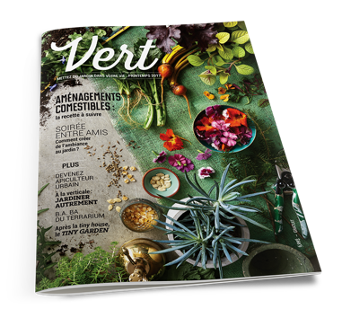 Un nouveau magazine offert gratuitement en jardinerie partout au Québec.