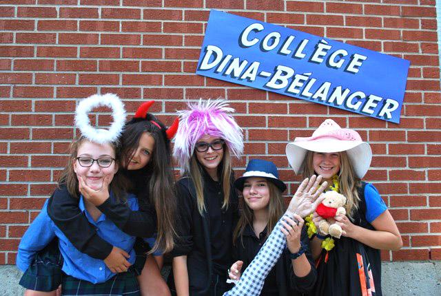 Rentrée scolaire à Dina-Bélanger