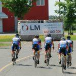 Cyclistes dans le secteur Morigeau