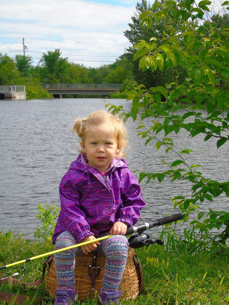 ma première pêche